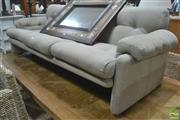 Sale 8310 - Lot 1080 - B&B Italia 3 Seater Coronado Lounge in Grey by Tobia Scarpa