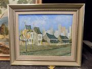 Sale 8419T - Lot 2083 - David Nalder, Old Balmain, oil on canvas board, 26.5 x 34cm, signed lower left
