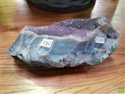 Sale 8589 - Lot 1062 - Amethyst - Agate Example Piece