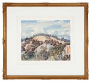 Sale 8795A - Lot 82 - Hans Heysen- Landscape - Landscape 32 x 40cm