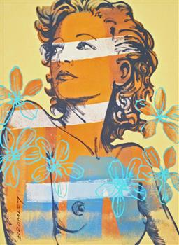 Sale 8330A - Lot 84 - David Bromley (1960 - ) - Hilary 29 x 21.5cm