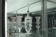 Sale 8288 - Lot 16 - English Hallmarked Sterling Silver Victorian Crystal Cut Lidded Bottle