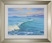 Sale 8301A - Lot 47 - Robyn Collier (1949 - ) - Breaking Waves 30 x 40cm