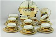 Sale 8456 - Lot 91 - Royal Doulton Coaching Days Coffee & Tea Wares