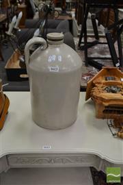 Sale 8472 - Lot 1054 - Ceramic Demijohn
