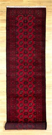 Sale 8576C - Lot 18 - Afghan Turkman 380cm x 82cm