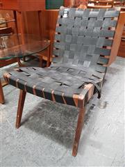 Sale 8782 - Lot 1095 - Webbed Lounge Chair by Douglas Snelling