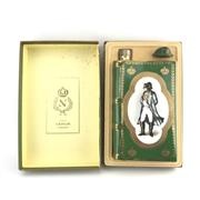 Sale 8875W - Lot 24 - 1x Camus Napoleon Cognac - in Limoges Porcelain green book-form decanter with stopper in box