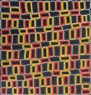 Sale 8325 - Lot 520 - Walala Tjapaltjarri (1960 - ) - Tingari 100 x 97cm