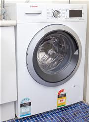 Sale 8575H - Lot 63 - A Bosch front-loading washing machine, 8kg capacity H: 86cm W: 60cm D: 60cm Ex Appliances Online, 02/2018 $1065