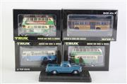 Sale 8827T - Lot 618 - Trux 1:76 Scale Replica Aussie Big Rigs & Buses (4) with a Trax Holden EH Utility