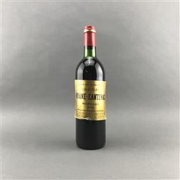 Sale 9120 - Lot 1038 - 1978 Chateau Brane-Cantenac, 2me Cru Classe, Margaux - very very high shoulder