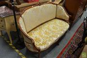 Sale 8480 - Lot 1140 - French Style 2 Seater Settee