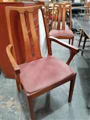 Sale 8908 - Lot 1089 - Set of Nathan Teak Dining Chairs