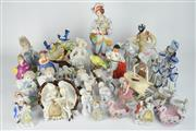 Sale 8396 - Lot 42 - Continental Figure with Others