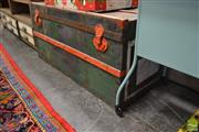 Sale 8480 - Lot 1166 - Timber Bound Travelling Trunk