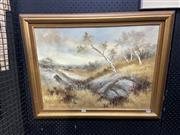 Sale 8895 - Lot 2056 - Tyson - Landscape, oil painting, 56 x 72cm (frame), signed lower left