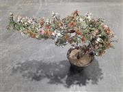 Sale 9071 - Lot 1052 - Jadeite Plant in Planter (h:42 x w:68 x d:24cm)