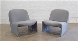 Sale 9151 - Lot 1001 - Pair of vintage Alky lounge chairs by Giancarlo Piretti for Castelli (h71 x w64 x d78cm)
