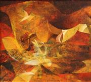 Sale 8642 - Lot 568 - Franz Kempf (1926 - ) - Return of the Dove, 1970 25 x 27cm