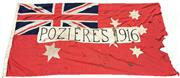 Sale 8649 - Lot 53 - First World War Flag Poziers 1916