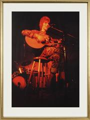 Sale 8759 - Lot 2075A - Paul Melchert - David Bowie at Student Refectory, Central London Polytechnic (from RocknRoll series 41.5 x 29.5cm