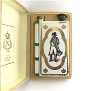 Sale 8875W - Lot 26 - 1x Camus Napoleon Cognac - in Limoges Porcelain white book-form decanter with stopper in box