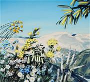 Sale 8943A - Lot 5013 - Ralph Malcolm Warner (1902 - 1966) - Victorian Alps - The Winter Playground, c1959 gouache