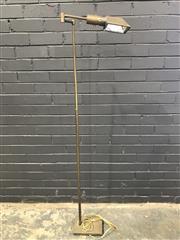 Sale 8979 - Lot 1001 - Brass Articulated Floor Lamp (H:157cm)