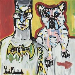 Sale 9081A - Lot 5026 - Yosi Messiah (1964 - ) - Super Dog, 2020 85 x 85 cm