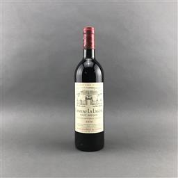 Sale 9120 - Lot 1053 - 1978 Chateau La Lagune, 3me Cru Classe, Haut-Medoc - base of neck