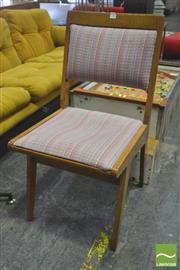 Sale 8310 - Lot 1058 - English Oak Retro Dining Chair