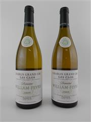Sale 8479 - Lot 1790 - 2x 2006 Domaine William Fevre Les Clos Grand Cru, Chablis
