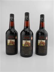 Sale 8514W - Lot 63 - 3x 1981 Yalumba Thoroughbred Series - Manikato Vintage Port, Barossa Valley