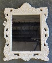 Sale 8971 - Lot 1066 - Small Ornate Framed Mirror (51 x 38cm)