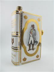 Sale 8367 - Lot 719 - 1x Camus Vieille Reserve Napoleon Cognac - in Limoges book form decanter with stopper