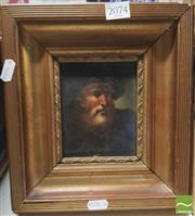 Sale 8413T - Lot 2074 - Picture of Man with Beard