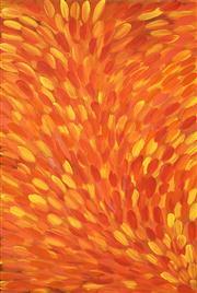 Sale 8449A - Lot 580 - Gloria Petyarre (c1945 - ) - Medicine Leaves 150 x 95cm