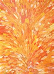 Sale 8467 - Lot 540 - Gloria Petyarre (c1945 - ) - Bush Medicine Leaves 207 x 152cm