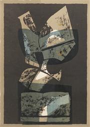 Sale 8652A - Lot 5067 - Franz Kempf (1926 - ) - Icon II, 1970 50.5 x 35cm