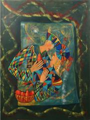 Sale 8657A - Lot 5092 - Artist Unknown - Harlequin 122 x 91cm