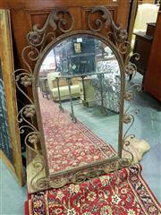 Sale 8657 - Lot 1067 - Ornate Metal Framed Mirror