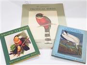 Sale 8822B - Lot 814 - 3 Volumes:: Tropical Birds, ill. J. Gould, pub. Batsfod Colour Books, 1948, inscribed Ure Smith Sr.; Audubons American Birds, ill.