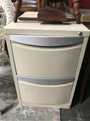 Sale 8822 - Lot 1286 - Metal 2 Drawer Filing Cabinet