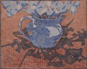 Sale 9047 - Lot 562 - Mabel Pye (1894 - 1982) - Shadow Patterns, 1936 17.5 x 21 cm (frame: 52 x 46 x 2 cm)