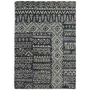 Sale 9061C - Lot 49 - Indian Tribal Design Rug, 160x230cm, Handspun Jute