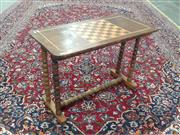 Sale 9071 - Lot 1027 - Occasional Table with Chess Board Top (h:55 x w:78 x d:48cm)