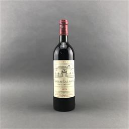 Sale 9120 - Lot 1054 - 1978 Chateau La Lagune, 3me Cru Classe, Haut-Medoc - very high shoulder