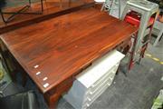 Sale 8431 - Lot 1079 - Mahogany 2 Drawer Desk