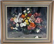 Sale 8649R - Lot 95 - Alan Douglas Baker - Oil on Board - Signed Lower Left (75 x 60cm)